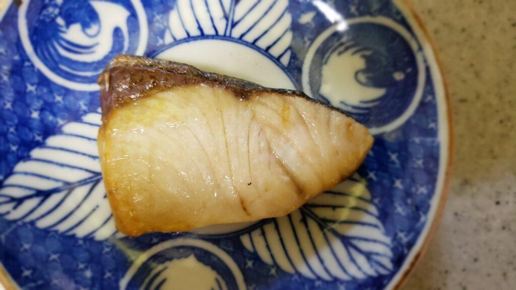 焼くと見た目が普通に焼き魚