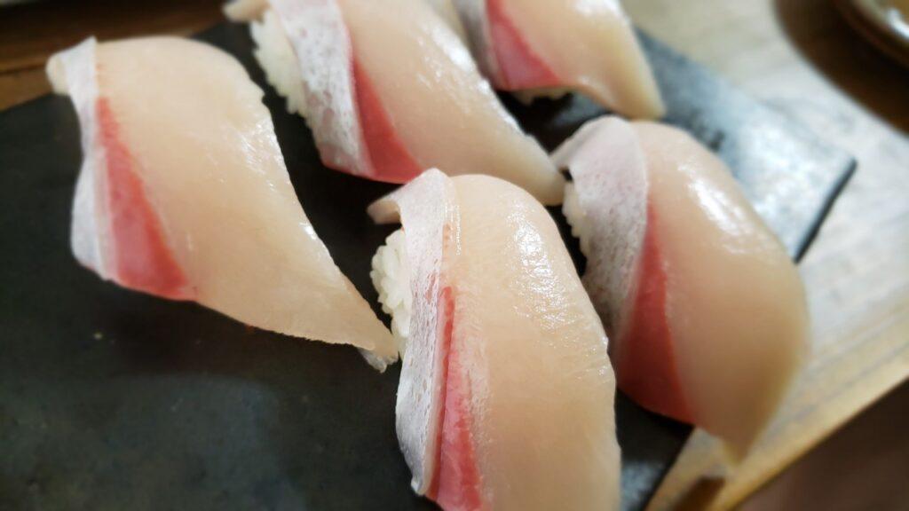 艶のあるお寿司