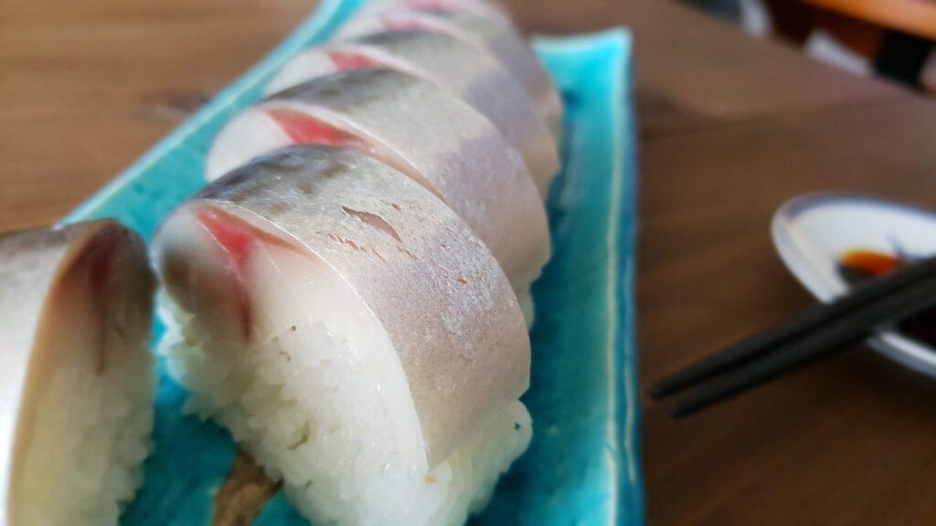 上品な見た目の棒寿司